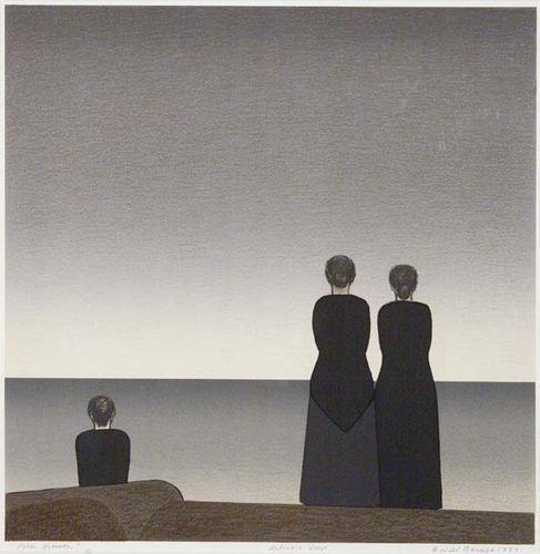 Will Barnet (USA, 1911-2012) - Peter Grimes, 1983