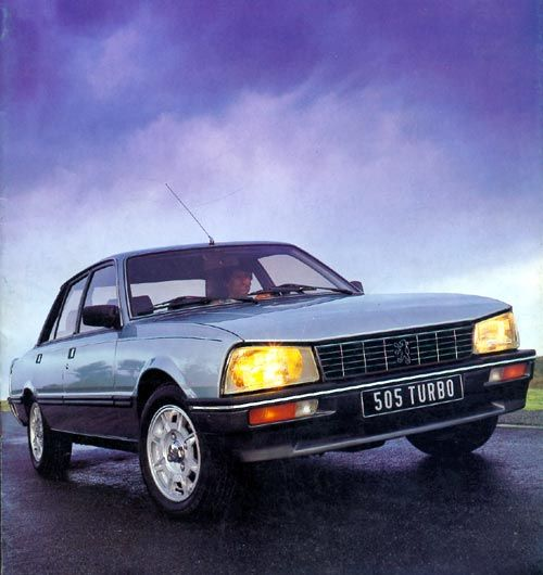 Peugeot 505 Turbo & Black of course - Owned