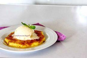 Arabafelice in cucina!: Ananas grigliato con gelato alla vaniglia