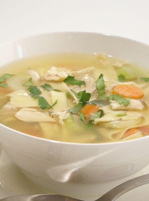Ricardo's Recipe : Chicken Noodle Soup