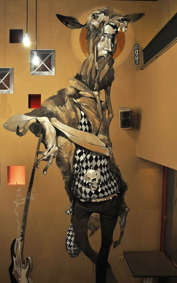Canvas and Street Art creations by Stamatis Laskos