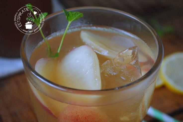 Perzik ice tea
