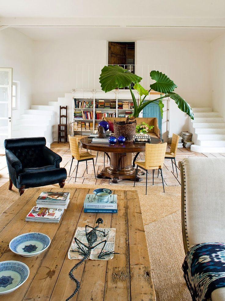 La casa de campo de la interiorista Isabel López-Quesada cerca de Biarritz | Etxekodeco