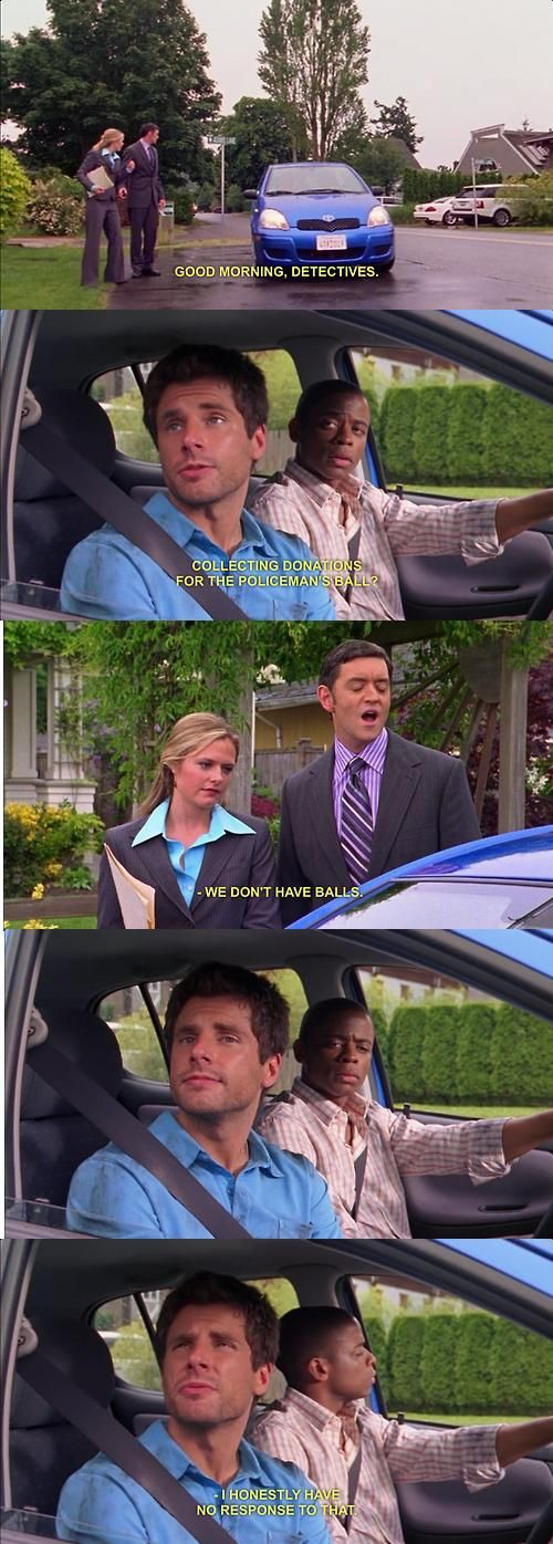 I love psych. I love Shawn. :) funny guys
