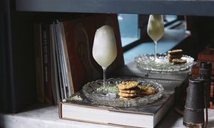 Jeremy Lee's recipes for elderflower sorbet and pistachio biscuits | King of puddings | Life and style | The Guardian