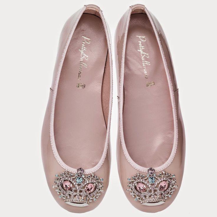 Modelo Rosario en color rosa y con corona en cristal de Swarovski de Pretty Ballerinas