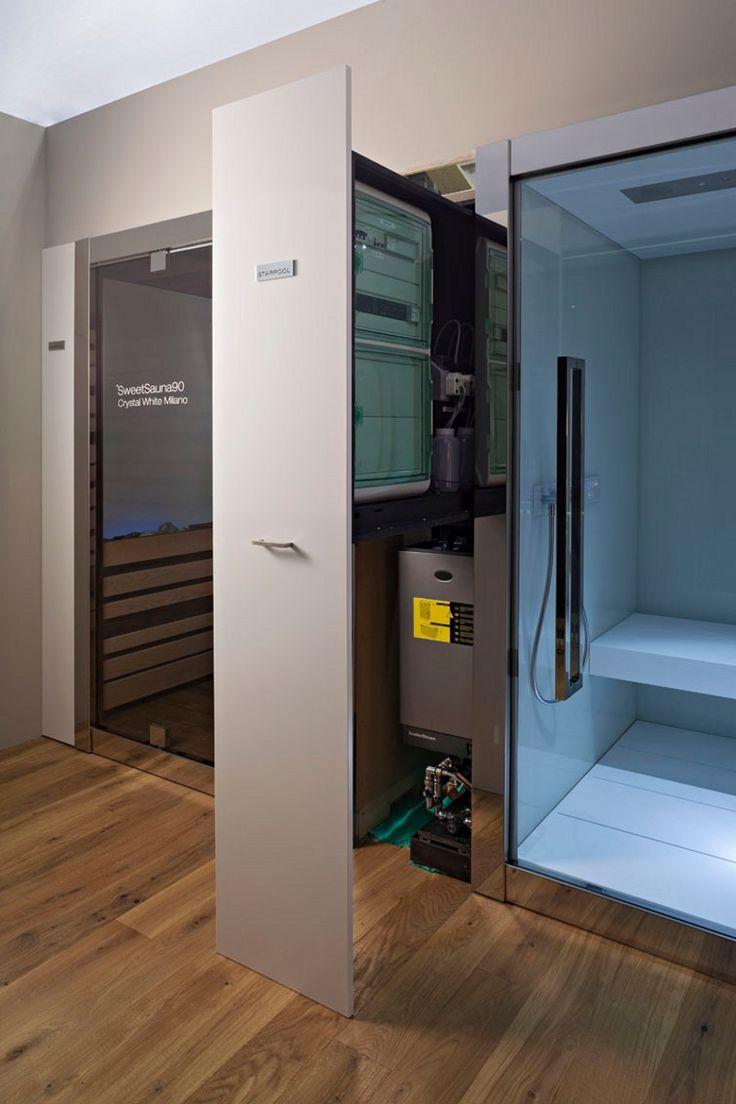 Finnish Sauna and Steam Bath togheter