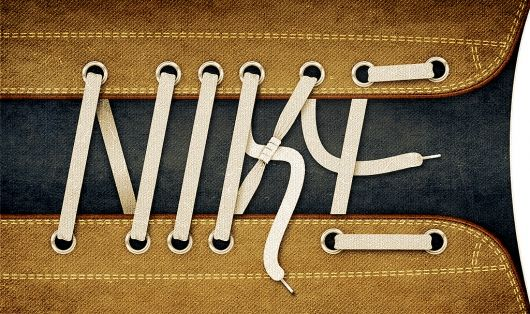 Nike laces | Flickr - Photo Sharing!: Inspiration, Nike Lace, Funny Commercial, Illustration, Branding, Graphics Design, Alan Klim, Typography, Nike Ads