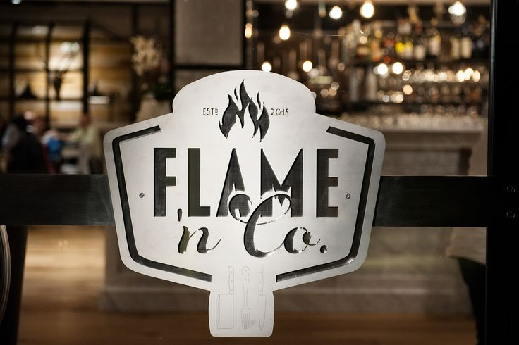 Flame 'n Co. Brasserie Extraordinaire - Codroipo (UD) Italy #brasserie #interiorDesign #urbanDesign #industrialDesign #barbecue #dynart #newRestaurant www.flameandco.it