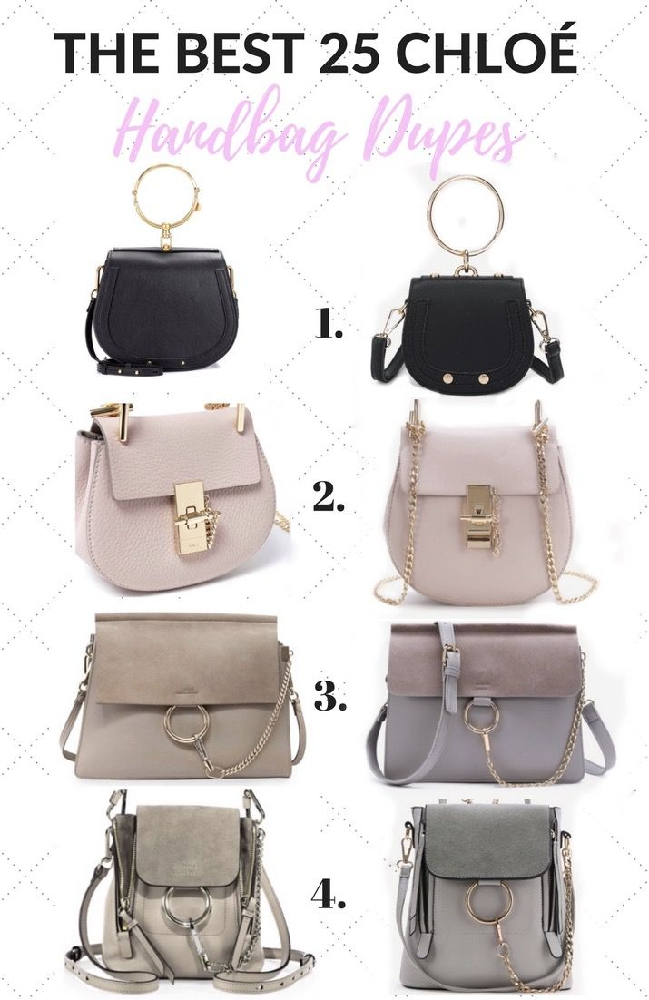 8432b34fb8da The 25 BEST Chloe Handbag Dupes and Where To Find Them