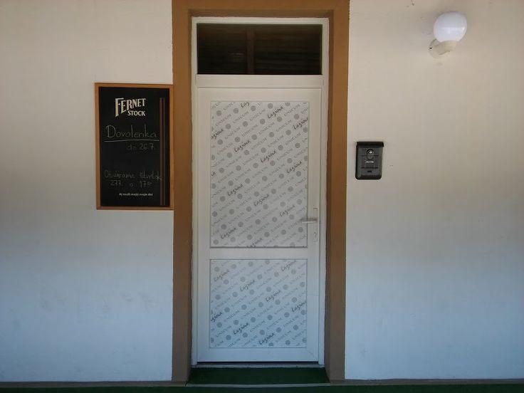 Tlač a polep dverí   #tlač #nálepka #výklad #samolepka #dvere