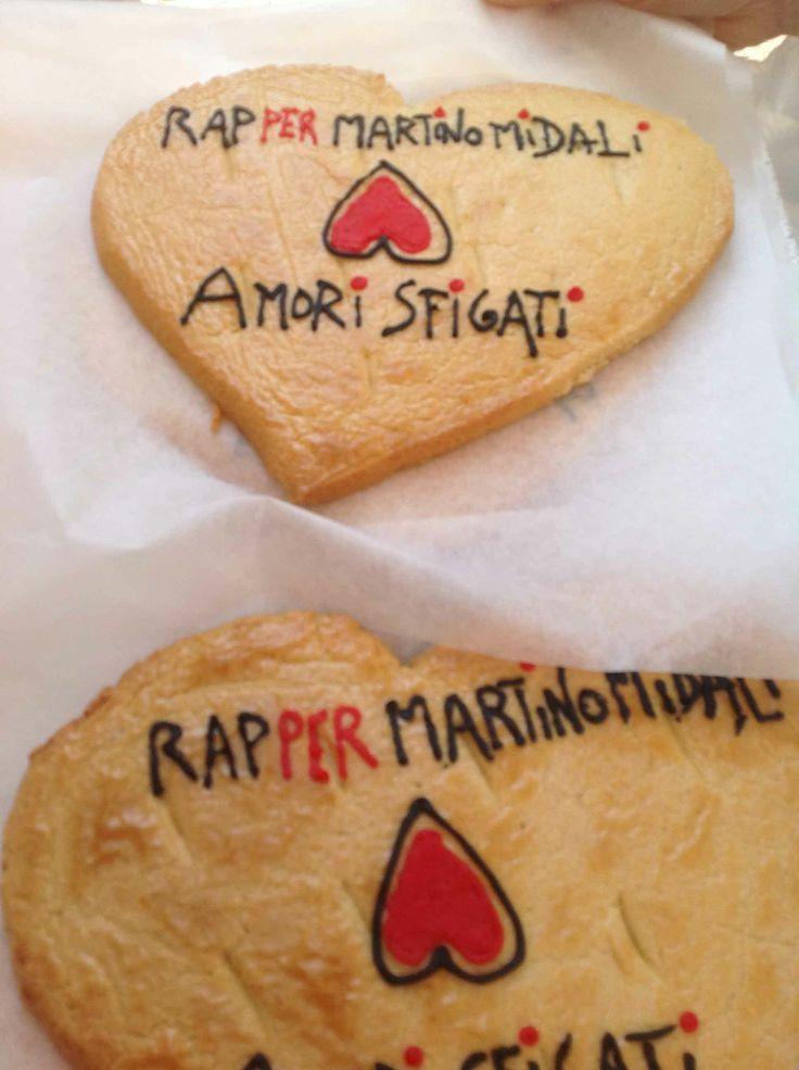 Biscotti  RAP per MIDALI