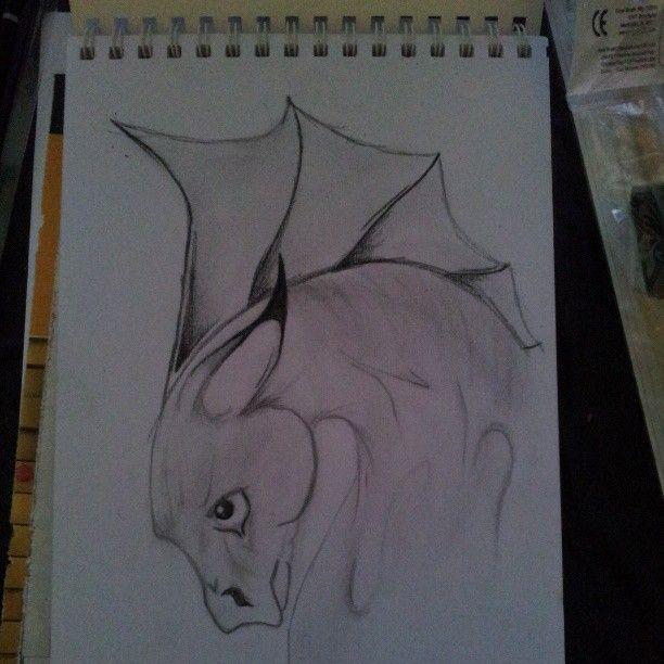 Sad Dragon #dragon #art