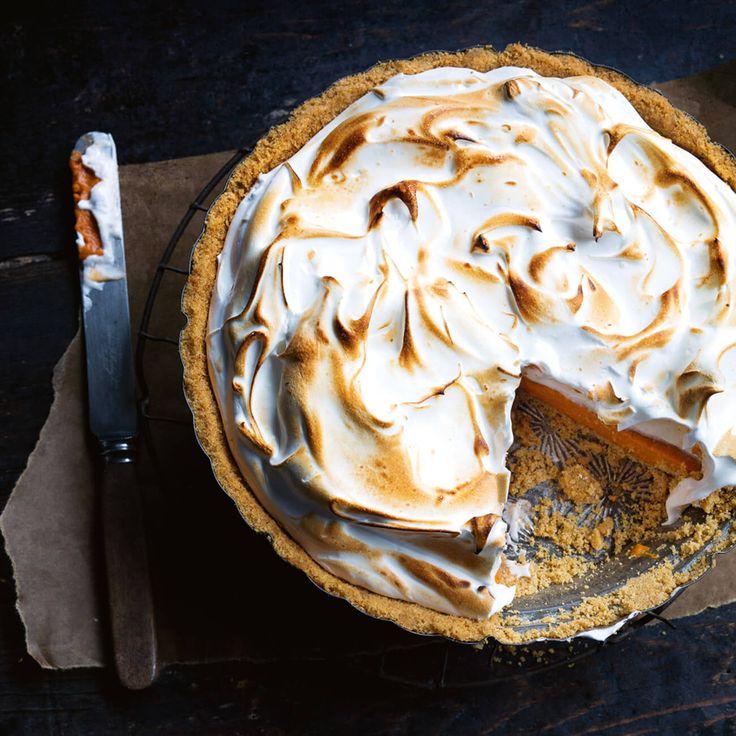 How to make Carrot Meringue Pie #Carrot #Meringue #Pie #Dessert #Recipe