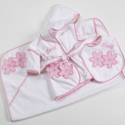 30 best personalized baby gifts images on pinterest baby gift bath feeding time personalized baby girl gift set negle Images