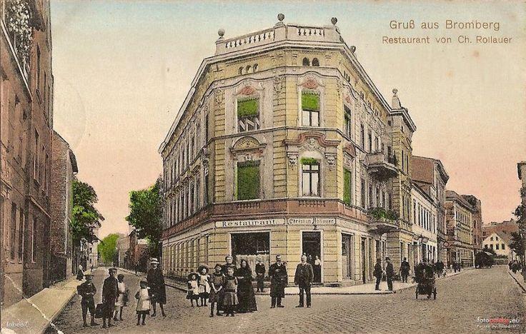 Pomorska 5, Bydgoszcz - 1910 rok, stare zdjęcia