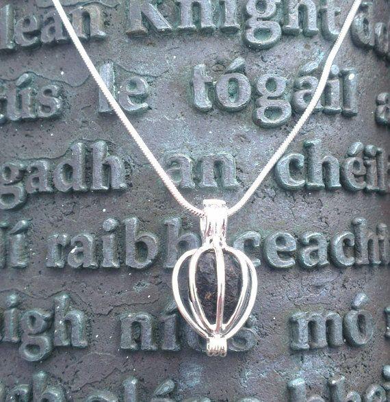 Irish turf bog pendant Sod of turf from Co. by WildAtlanticCraft