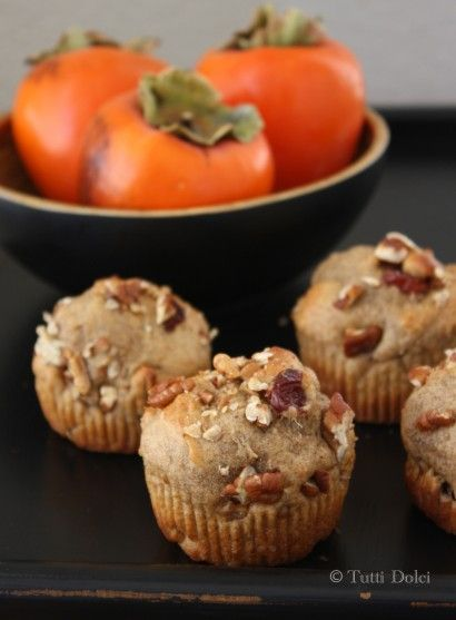 Spiced Persimmon Muffins | Tasty Kitchen: A Happy Recipe Community!