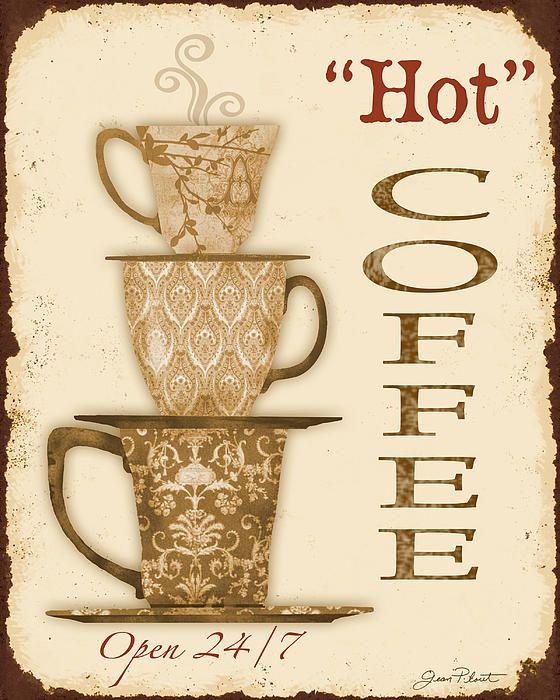 I uploaded new artwork to fineartamerica.com! - 'Vintage Hot Coffee Sign' - http://fineartamerica.com/featured/vintage-hot-coffee-sign-jean-plout.html via @fineartamerica