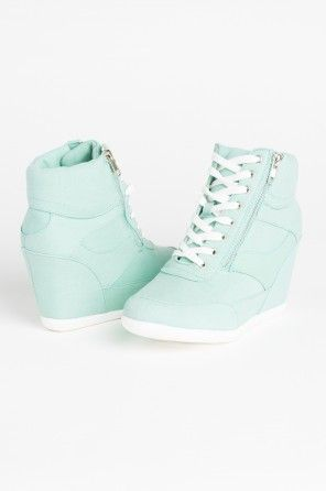 Mint wedge sneakers                                                                                                                                                     More