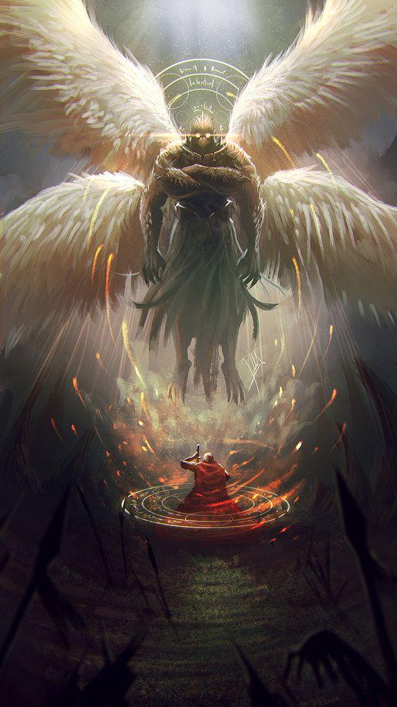 Garuda por alejdark - Criaturas | Dibujando.net