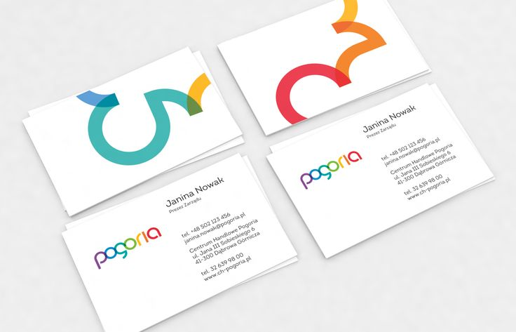 Pogoria businesscards
