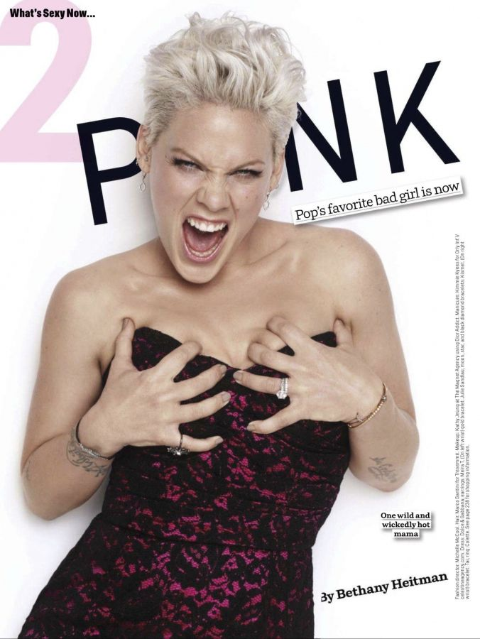 Pinks New Haircut | Pink Covers Cosmopolitan June 2012 | Talks Love and Pregnancy