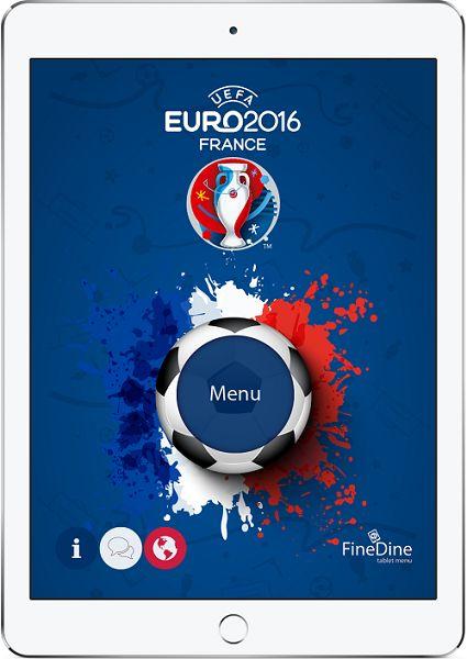 Prepare your menu to #euro2016  #tabletmenu #ipadmenu #digitalmenu