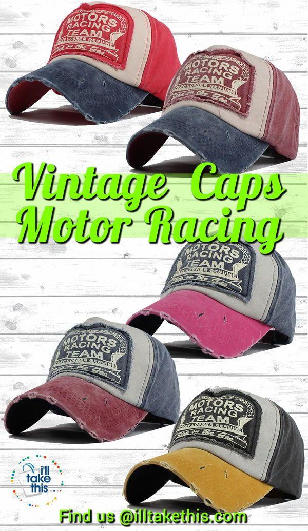 Distressed Vintage Baseball Cap 1f485ec0c6ca