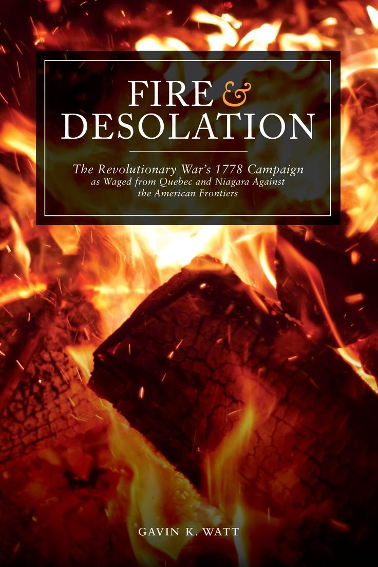 If you're interested in the American Revolution and the involvement of Canadians, then this is the book for you!  http://dndrn.ca/FireandDesolation