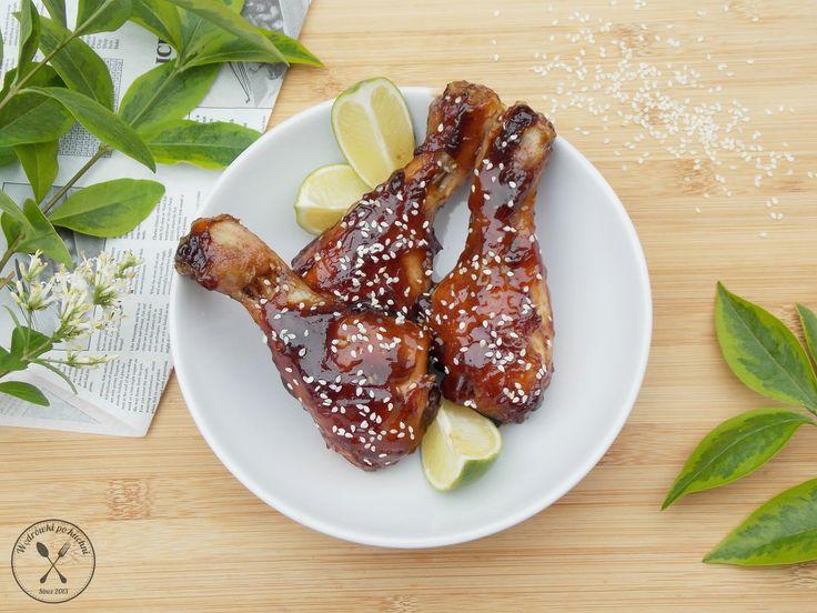 Kurczak w sosie teriyaki – Wędrówki po kuchni