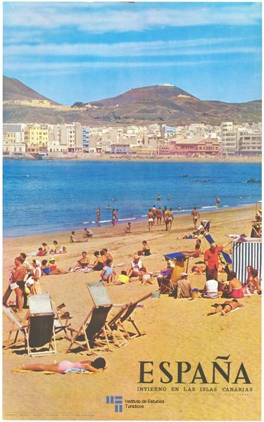 Playa de las Canteras, Las Palmas de Gran Canaria, España.