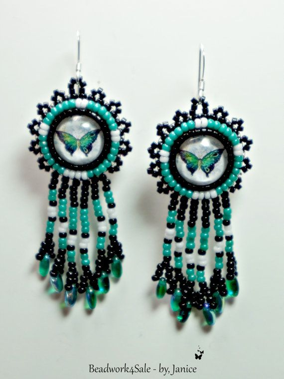 ★ Lightly Blue ★ Wonderful Treasury by Nancy Bailey !!! Thank you so much for including my necklace !!! Turquoise Butterfly Beaded Earrings Handmade Jewelry https://www.facebook.com/permalink.php?story_fbid=1561811894069182&id=100007211597708&substory_index=0