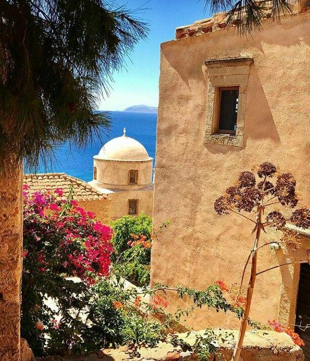 Momemvasia~Peloponnese~Greece