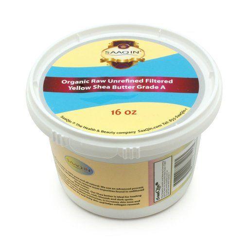 1 Lb Organic Raw Unrefined Filtered Shea Butter, Top Premium Quality SAAQIN ® http://www.amazon.com/dp/B00BH2ZS5W/ref=cm_sw_r_pi_dp_xJy4tb0H4RX2G