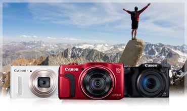 Canon PowerShot és IXUS digitális kompakt fényképezőgépek - Fényképezőgépek - Canon Hungaria