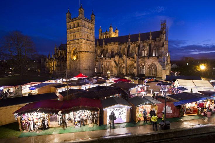 Exeter's first Christmas Market soars with success | The Exeter Daily  hotelshopUK's Christmas Market Break: http://www.hotelshopuk.com/hotels/exeter-thistle-exeter-city-centre--the-rougemont/boardtype/1302/date/20131111