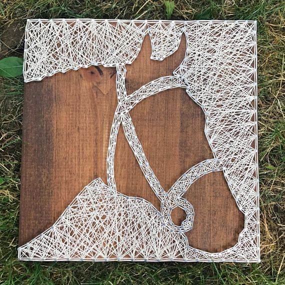 MADE TO ORDER- Horse Head String Art