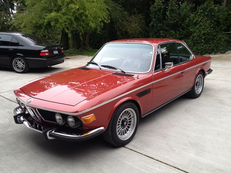 1974 BMW 3.0CS 3.5L 5-Speed
