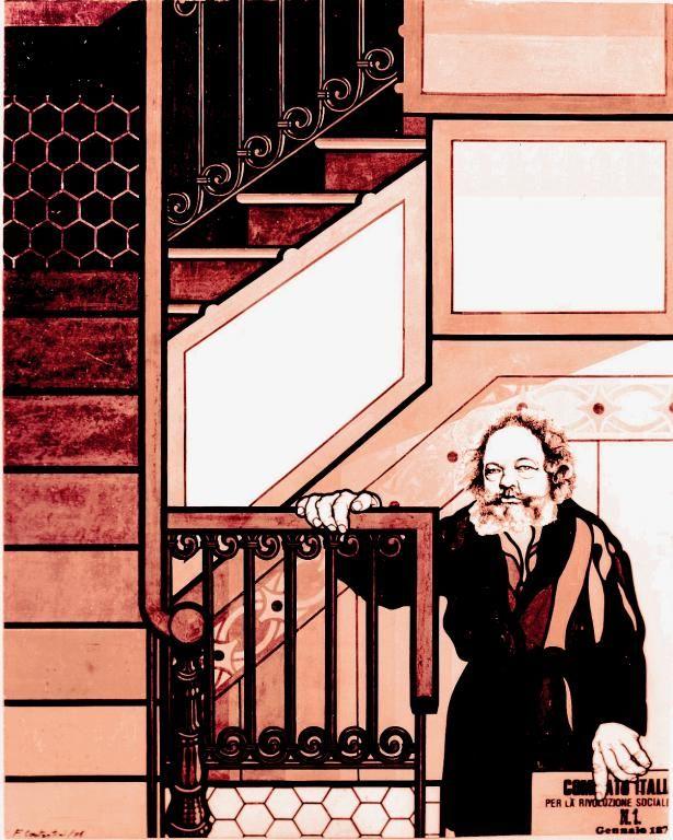Russian anarchist Mikhail Bakunin