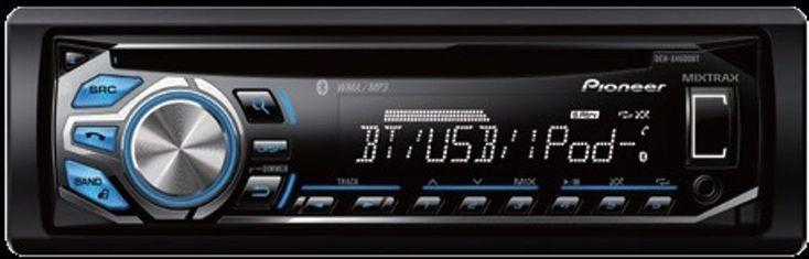 Pioneer DEH-X4600BT In Dash Car CD Player w Bluetooth Aux Input New DEHX4600BT