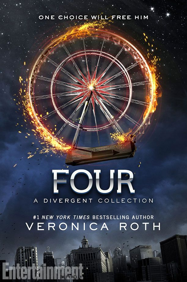 See the cover for Veronica Roth's 'Four: A Divergent Collection' — EXCLUSIVE || Entertainment Weekly