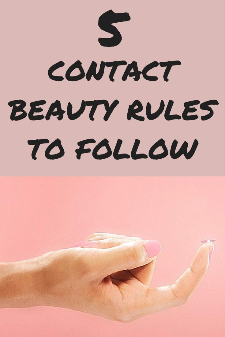 Tips and Healthy Contact Habits to keep Your Lenses Clean and Your Eyes free of Irritation