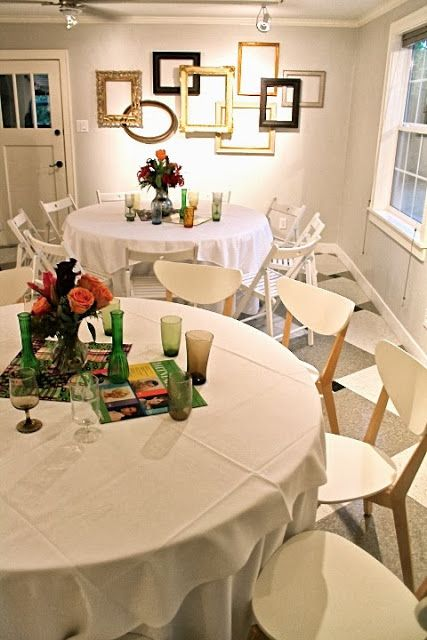 1960 39 S Themed Party Table Decor Party Time Pinterest Themed Parties Party Time And