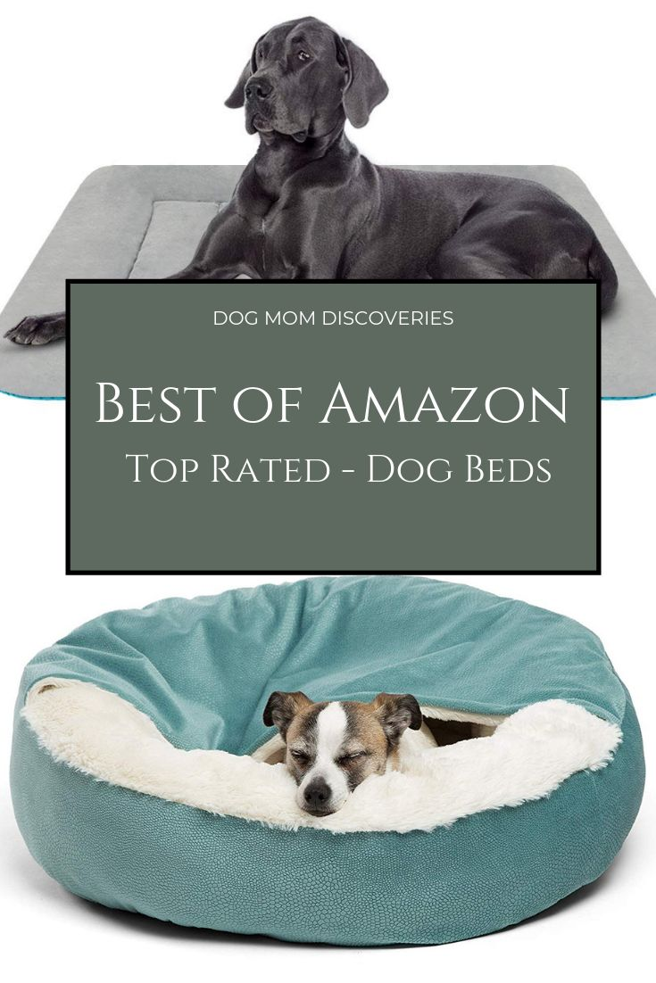 TopRated Dog Beds on Amazon on Dog bed, Dog mom, Cool