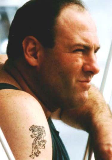 tony soprano tattoo, James Gandolfini