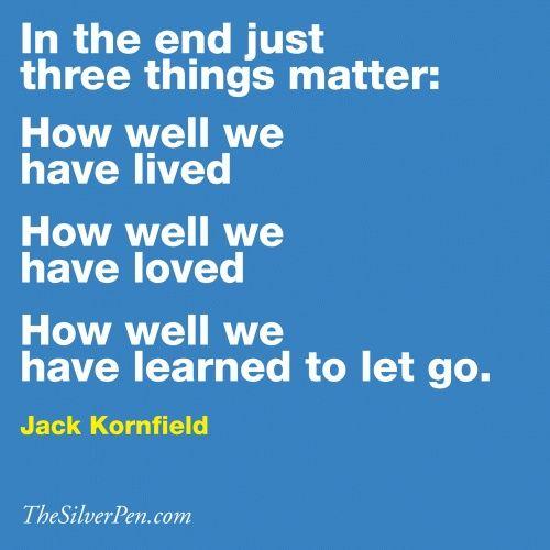 jack kornfield quotes, thesilverpen.com