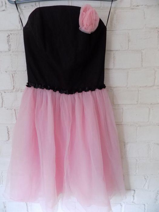 Piękna tiulowa sukienka