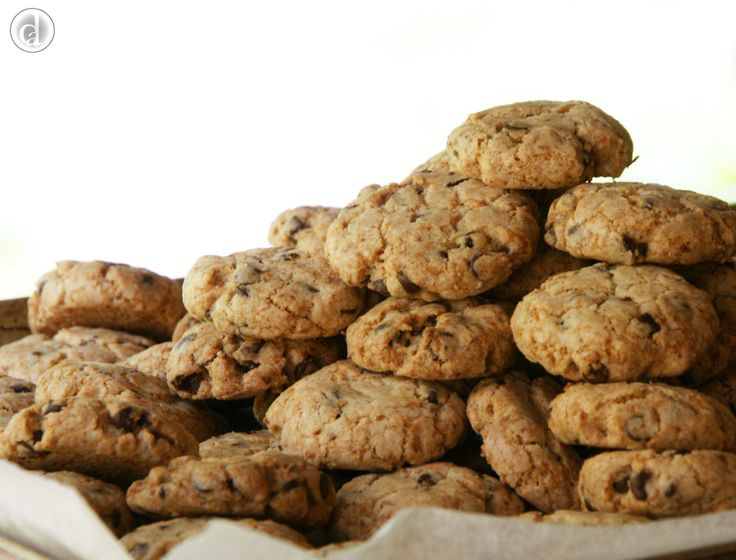 These gluten free vegan Choc Chip biscuits are fantastic little morsels