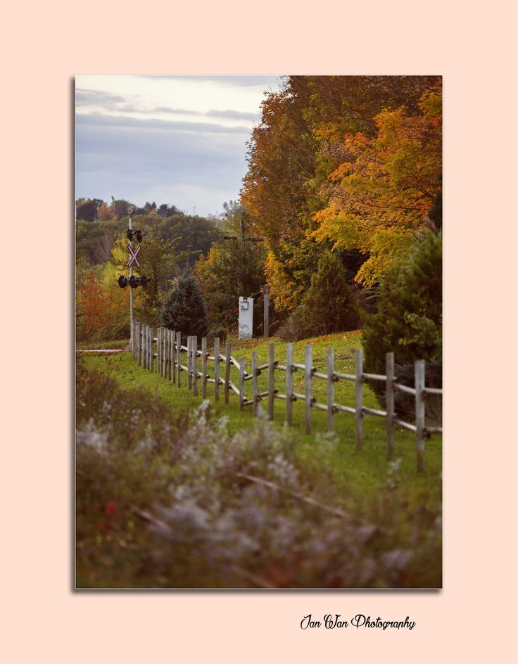 Fall in Hantsport, Nova Scotia www.janwanphotography.com